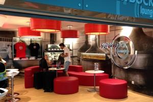 Super Bock Lounge, aeroporto de Porto