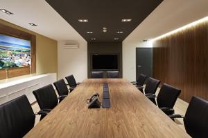 Sala reuniões escritórios INFRAQUINTA