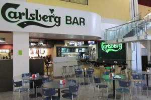 CARLSBERG Bar, aeropuerto de Faro