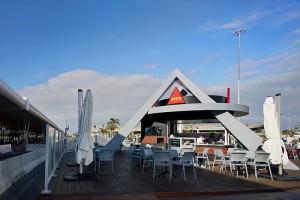 Quiosque DELTA Cafés, aeroporto de Faro