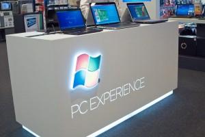 Mobiliário em KRION, Microsoft Experience lojas FNAC