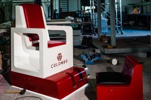 C.C. COLOMBO, Lisboa, Cadeira de Engraxador