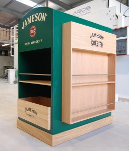 JAMESON Irish Whiskey, Expositor